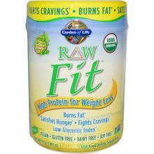 Garden of Life, RAW Organic Fit, 控制体重原味蛋白粉 15.1 oz (427g)