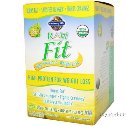 garden of life fit. Garden Of Life, RAW Organic Fit, High Protein For Weight Loss, Original, Life Fit
