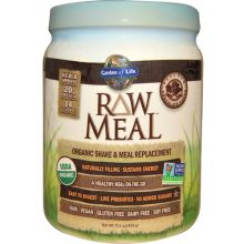 Garden of Life, RAW Meal, Organic Shake & Meal Replacement, Chocolate Cacao, 17.9 oz (509g)