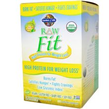 Garden of Life, RAW Organic Fit, High Protein for Weight Loss, Original, 10 Packets, 1.6 oz (45 g) Each