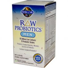 Garden of Life, RAW Probiotics, Men, 90 Veggie Caps