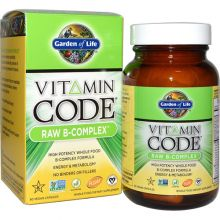 Garden of Life, Vitamin Code, Raw B-Complex, 60 Vegan Caps