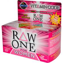 Garden of Life, Vitamin Code, Raw One, Once Daily Raw Multi-Vitamin for Women, 75 UltraZorbe Veggie Caps