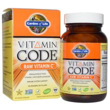 Garden of Life, Vitamin Code, Raw Vitamin C, 60 Vegan Caps