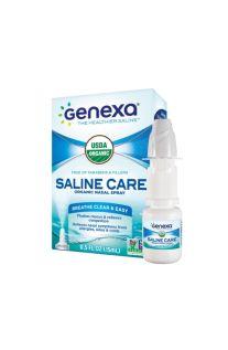 Genexa, Saline Care™ 有机鼻腔喷雾剂