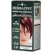 Herbatint, Permanent Herbal Haircolor Gel, 4.5 fl oz - 5M