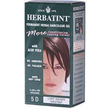 Herbatint, Permanent Herbal Haircolor Gel, 4.5 fl oz - 5D