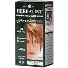 Herbatint, 純天然植物染髮劑, 4.5 fl oz - 8D