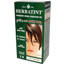 Herbatint, Permanent Herbal Haircolor Gel, 4.5 fl oz - 5N