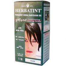 Herbatint, Permanent Herbal Haircolor Gel, 4.5 fl oz - 1N