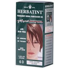 Herbatint, Permanent Herbal Haircolor Gel, 4.5 fl oz - 6D