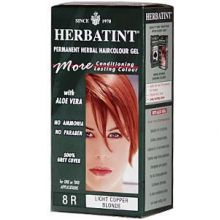 Herbatint, Permanent Herbal Haircolor Gel, 4.5 fl oz - 8R