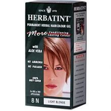 Herbatint, Permanent Herbal Haircolor Gel, 4.5 fl oz - 8N