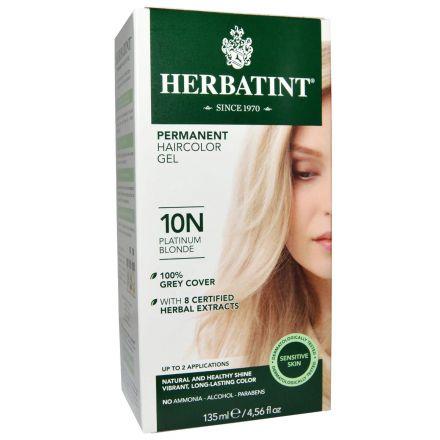 Herbatint, 純天然植物染髮劑, 4.5 fl oz - 10N (平行進口)