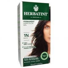Herbatint, 純天然植物染髮劑, 4.5 fl oz - 1N (平行進口)