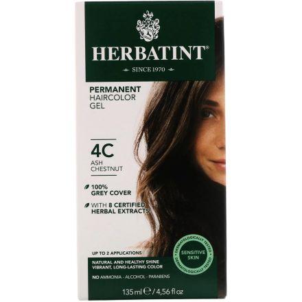 Herbatint, 純天然植物染髮劑, 4.5 fl oz - 4C (平行進口)