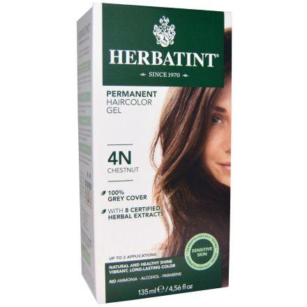 Herbatint, 純天然植物染髮劑, 4.5 fl oz - 4N (平行進口)