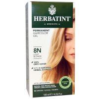 Herbatint, 純天然植物染髮劑, 4.5 fl oz - 8N (平行進口)