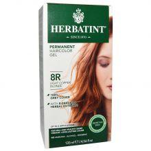 Herbatint, 純天然植物染髮劑, 4.5 fl oz - 8R (平行進口)