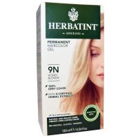 Herbatint, 純天然植物染髮劑, 4.5 fl oz - 9N (平行進口)