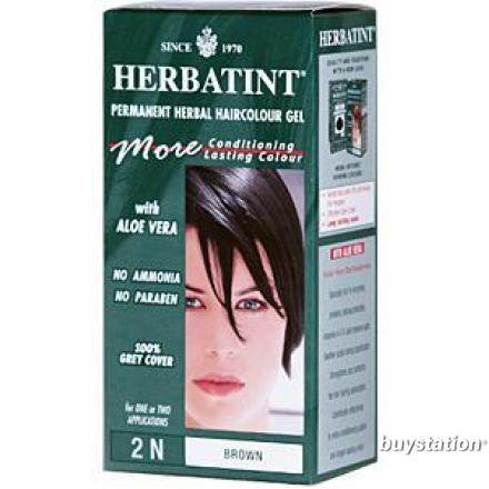 Herbatint, 純天然植物染髮劑, 4.5 fl oz - 2N
