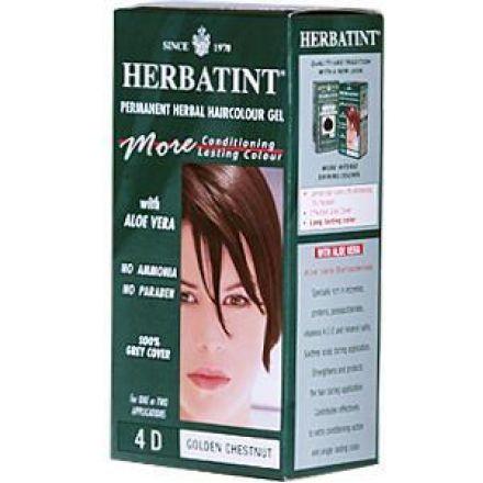 Herbatint, 純天然植物染髮劑, 4.5 fl oz - 4D
