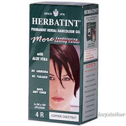 Herbatint, 純天然植物染髮劑, 4.5 fl oz - 4R