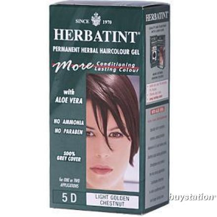 Herbatint, 純天然植物染髮劑, 4.5 fl oz - 5D