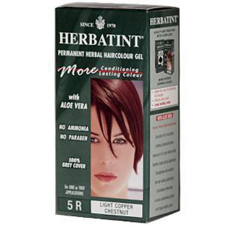 Herbatint, 純天然植物染髮劑, 4.5 fl oz - 5R