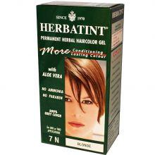Herbatint, 純天然植物染髮劑, 4.5 fl oz - 7N