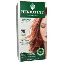 Herbatint, 純天然植物染髮劑, 4.5 fl oz - 7R