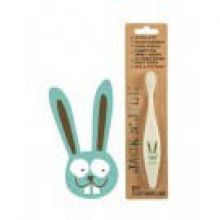 Jack N' Jill Bio Toothbrush (TM) Compostable & Biodegradable Handle BUNNY