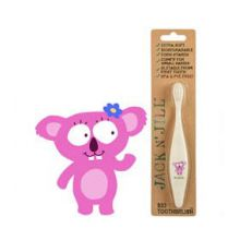 Jack N' Jill, Bio Toothbrush (TM) Compostable & Biodegradable Handle KOALA