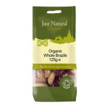Just Natural, Organic Brazils Whole, 125g