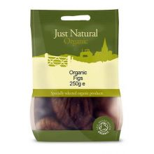 Just Natural, Organic Figs, 205g