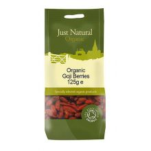 Just Natural, Organic Goji Berries, 125g
