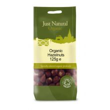 Just Natural, Organic Hazelnuts, 125g