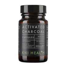 KIKI Health, Activated Charcol 300mg, 50 vegetarian capsules