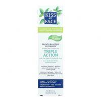 KISS MY FACE 蘆薈三重功效牙膏 3.4 oz