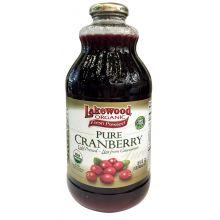 Lakewood, 有機小紅莓汁, 946 ml