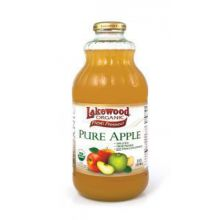 Lakewood Organic, Pure Apple Juice, 946 ml