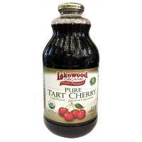Lakewood, 有機酸櫻桃汁, 946 ml