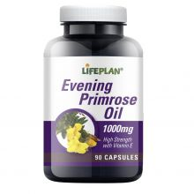 Life Plan, Evening Primrose Oil 1000mg, 90 caps