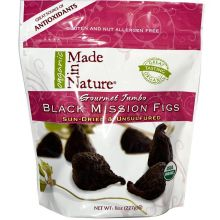 Made in Nature - Organic Black Mission Figs, 8 oz