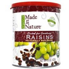 Made in Nature - Organic Dried Raisins, 15oz
