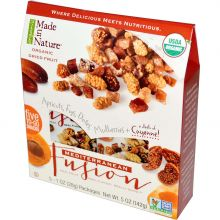 Made in Nature, Organic Dried Fruit, Mediterranean Fusion, 5 Packages, 1 oz Each