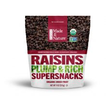 Made in Nature - Organic Dried Raisins, 9oz