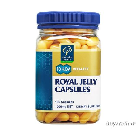 Manuka Health Royal Jelly 180 Capsules 1000mg