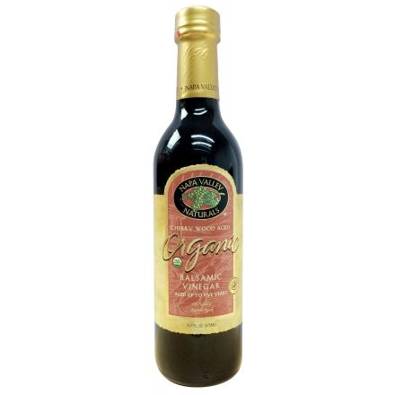 Napa Valley, Organic Balsamic Vinegar - Aged up to Five Years, 375ml