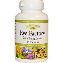 Natural Factors, Eye Factors, 叶黄素 2 mg, 90 粒